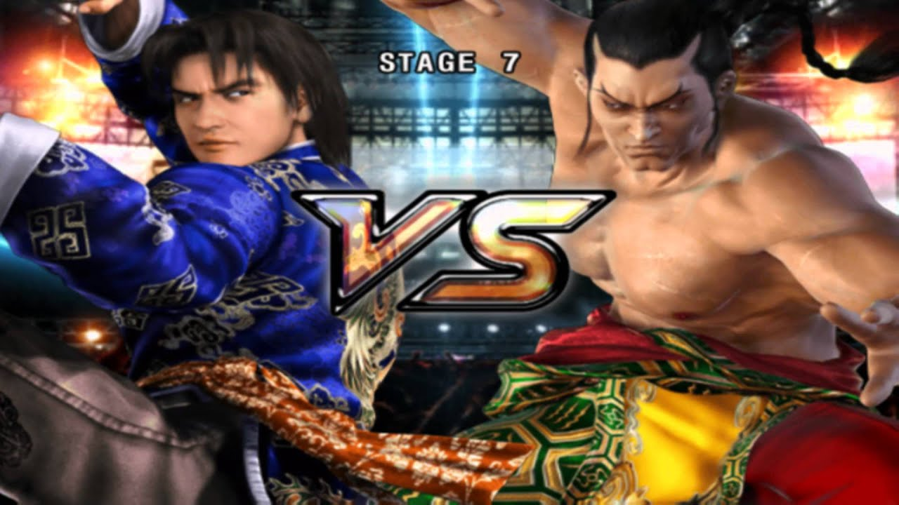 tekken 5 - lei story mode walkthrough [1080p full hd] - youtube