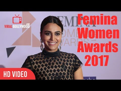 Swara Bhaskar At Femina Women Awards 2017 | Femina 2017