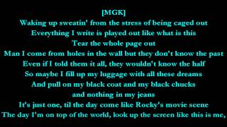 Invincible - Machine Gun Kelly feat. Ester Dean (Lyrics) HD