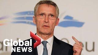 Secretary General of NATO addresses U.S. Congress   FULL SPEECH