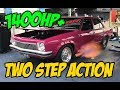 1400RWHP twin-turbo LS Torana on the dyno