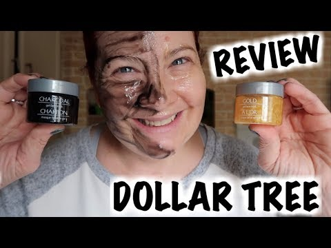 Dollar Tree Global Beauty Gel Mask Review