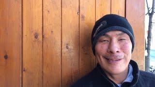 Homeless Inuk man