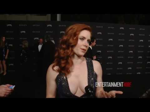 Amy Adams Interview 2014 LACMA Art + Film Gala Honoring Barbara Kruger and Quentin Tarantino