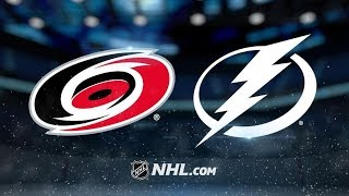 Carolina Hurricanes vs Tampa Bay Lightning – Oct.16, 2018 | Game Highlights | NHL 18/19 | Обзор