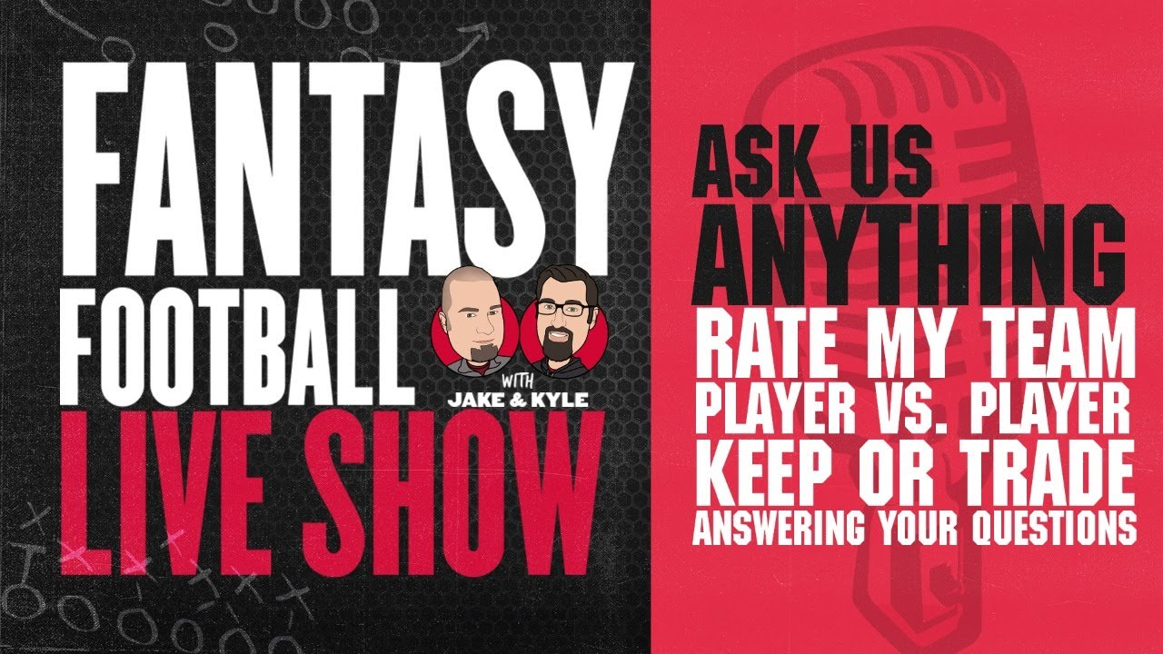 2020 Fantasy Football Advice - Fantasy Football Week 7 - LIVE Q&A