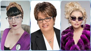 Die Schone 20 Ideen Zu Frisuren Fur Brillentrager Damen Youtube