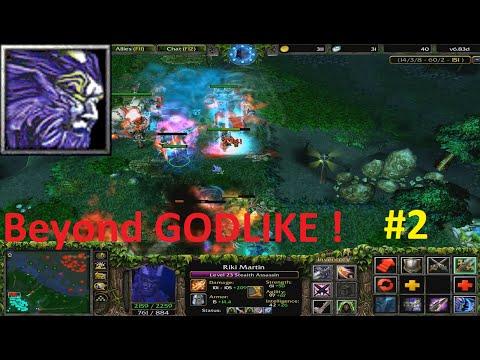 DotA 6.83d - Rikimaru, Stealth Assassin Beyond GODLIKE ! #2