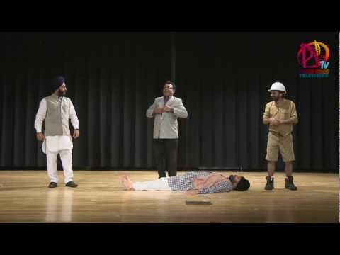 "Punjabi Play ""TOA""- Exposing the Indian System----PV TV"