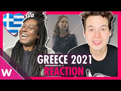 "Greece Eurovision 2021 Reaction | Stefania ""Last Dance"""
