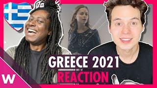 Greece Eurovision 2021 Reaction | Stefania