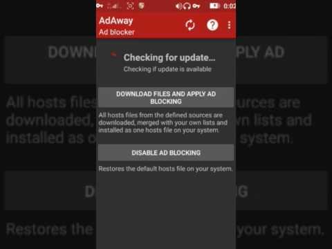 Adaway  Aplikasi blokir iklan android