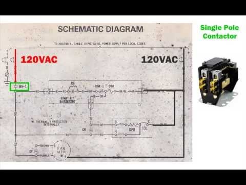 hvac wiring diagrams 2 hvac condenser how to ac schematic and wiring diagram air condition howto