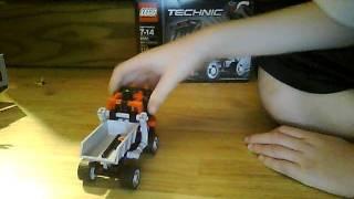 lego technic dump truck review  part 1