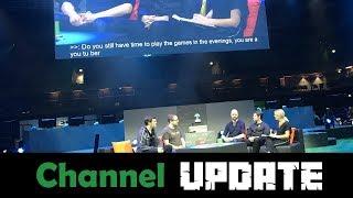 Channel Update - Travels, Minecon London Event, Limestream
