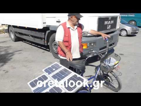 cretalook.gr-Γιώργος Φαλατάκης για φωτοβολταϊκό στο ποδήλατο