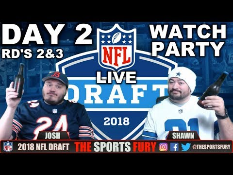 LIVE NFL Draft Watch Party | Day 2
