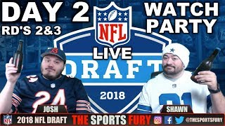 LIVE NFL Draft Watch Party   Day 2