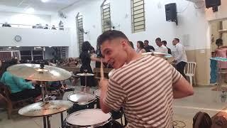 Math Rodrigues - Céu e Terra Se Encontram ( Drum Can )
