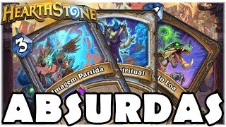 HEARTHSTONE - NOVAS CARTAS ABSURDAS! (O RINGUE DO RASTAKHAN)