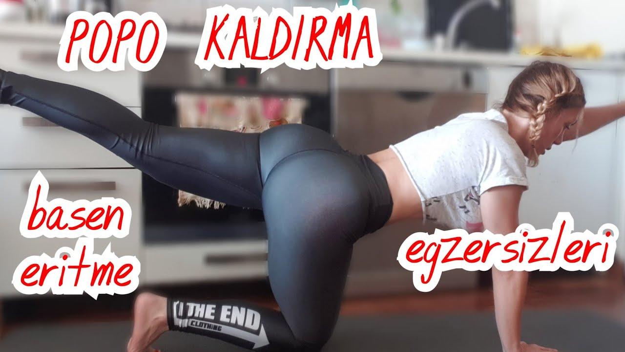 EVDE EKİPMANSIZ BASEN ERİTME VE POPO KALDIRMA EGZERSİZİ