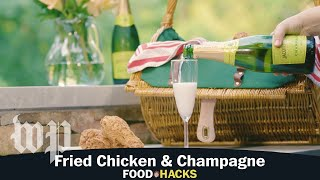 Fried Chicken & Champagne | Mary Beth Albright's Food Hacks