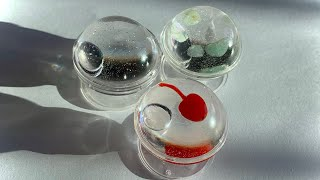 레진아트 심플한 반구 그립톡 만들기