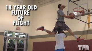 """6'0"""" 18 Year old Isaiah Rivera is the FUTURE of Dunking 