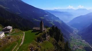 Val Poschiavo drone view