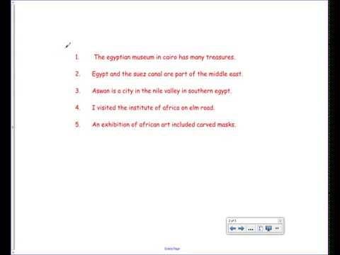 Proper Nouns And Proper Adjectives 8th