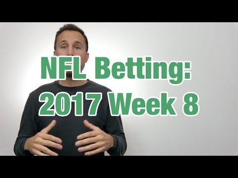Week 8 NFL Picks 2017 (17-4 on video picks)