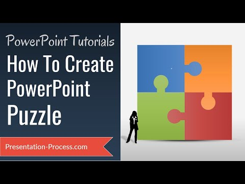 How To Create Puzzle In Powerpoint Diagram Series Youtube