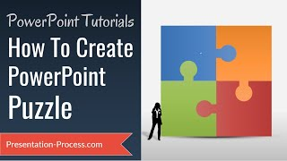 How To Create Puzzle in PowerPoint (DIAGRAM SERIES)