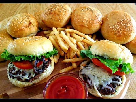recette-de-pain-hamburger-maison!!