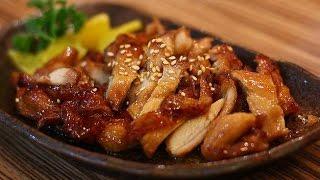Как приготовить курицу терияки?(Низкокалорийный рецепт)