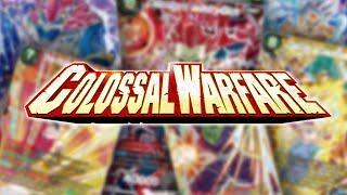 OUVERTURE BT4 COLOSSAL WARFARE : A LA RECHERCHE D'UNE SPR ! - Dragon Ball Super Card Game Opening