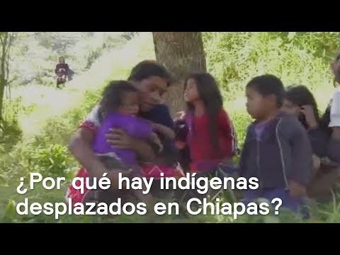 Indígenas desplazados de Chiapas exigen seguridad - En Punto con Denise Maerker