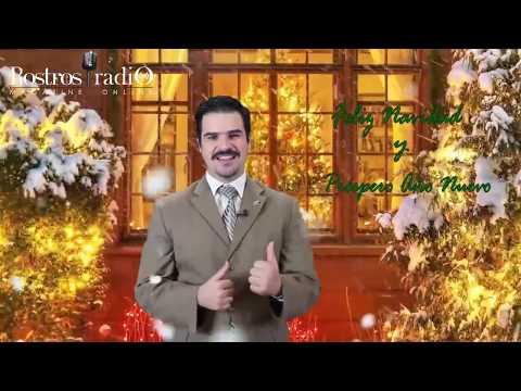 Feliz Navidad te desea Emilio Santos - Rostros Latinos Radio