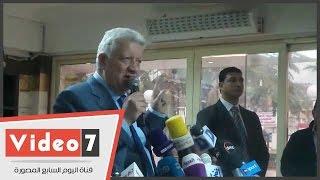 بالفيديو.. مرتضى منصور: كوبر مدرب فاشل.. وماكنش عارف مين اللى جاب الجون