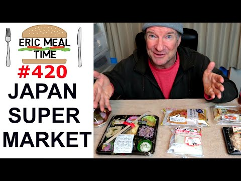 Japan Supermarket Feast - Eric Meal Time #420