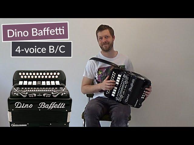 Mick O'Connor's/Tom Ward's Downfall on Black Dino Baffetti Accordion (B/C - 4-voice MMMM)