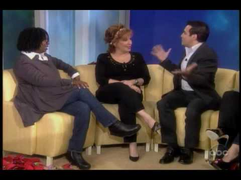 Mario Cantone does impressions of celebrity Christmas albums on The View