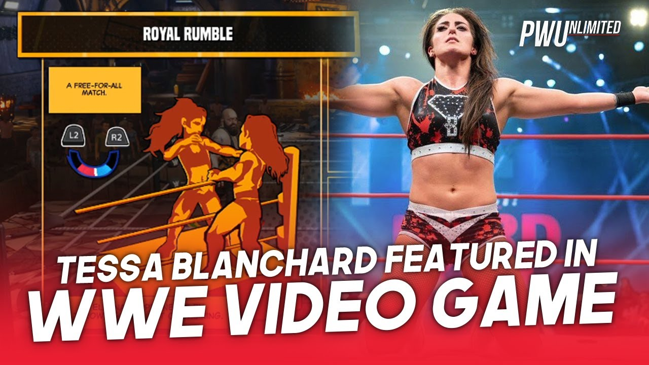 Tessa Blanchard Featured In WWE 2K Battle Grounds Video Game