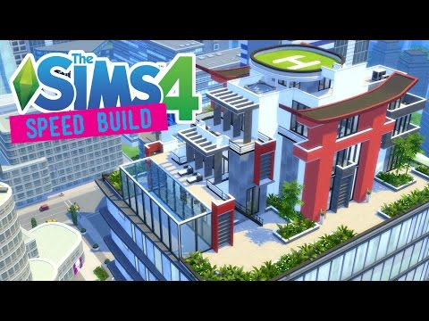 The Sims 4 -Speed Build- Tokyo Penthouse! (City Living) - No CC/Fully Furnished -