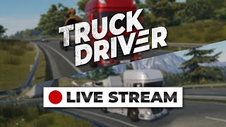 🔴 Truck Driver - Live Stream | With Marten & Bas