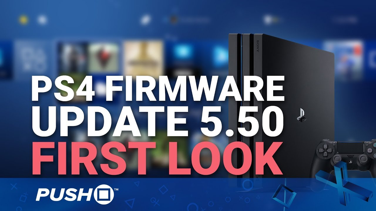 PS4 Update 5 50: Sony release new system upgrade - here's what it