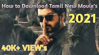 How To Download Tamil New Movies |no use uc browser(2021)|Tamil|Master BGM
