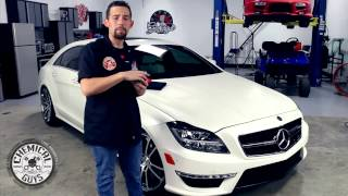 Best Wax For Matte Cars - Mercedes CLS AMG 63 Matte White - Chemical Guys Celeste Dettaglio Matte
