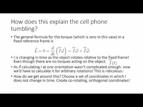 The Physics Of Flipping A Cell Phone Eulers Equations And The