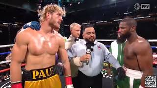 Floyd Mayweather vs Logan Paul - melhores momentos.